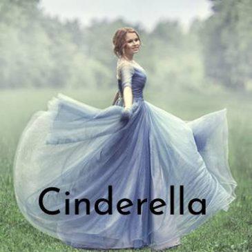 This month's preschool theme is Cinderella!