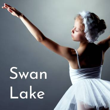 Image showing young swan ballet dancer