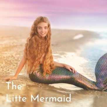 This month's preschool theme is the Little Mermaid!